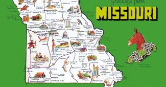 pictorial-travel-map-of-missouri